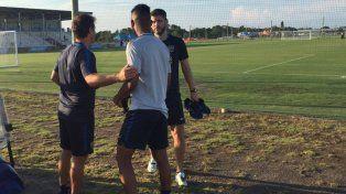 El reencuentro con el entrenador de Boca