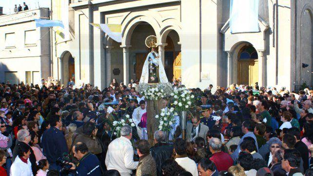 Nogoyá celebra 236 años y a su patrona, la Virgen del Carmen