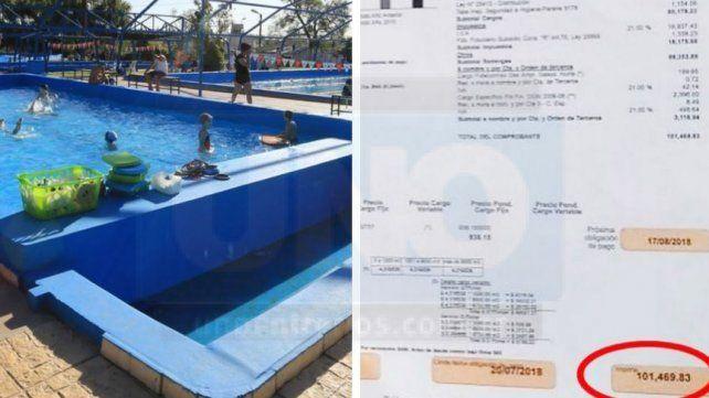 Por la suba de tarifas, el Club Paracao tendrá que pagar 160 mil pesos entre el gas y la luz