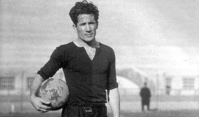 <b>Stábile. </b>Goleador del Campeonato mundial de 1930.