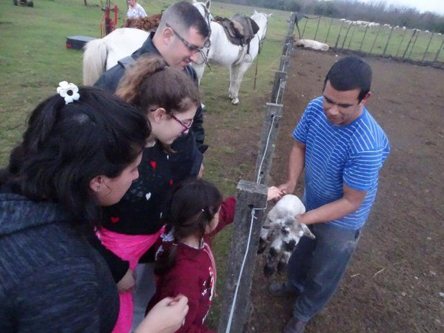 La granja de una familia que contagia las ganas de volver a visitarla