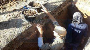 Realizaron excavaciones arqueológicas en el Nacional ligadas al Barrio del Tambor