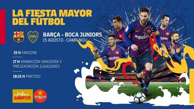 Será la sexta vez que Boca Juniors participe en el Gamper.