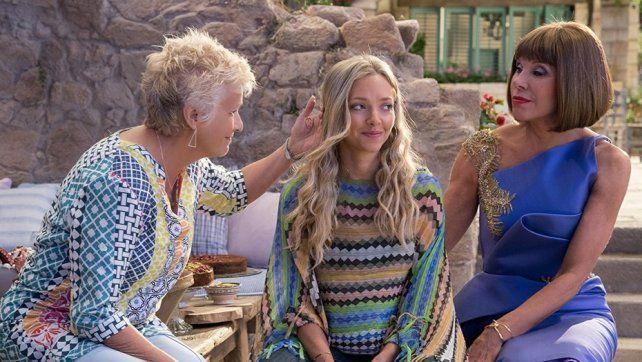 <b>Estreno.</b> Película Mamma Mia ¡Allá vamos otra vez!