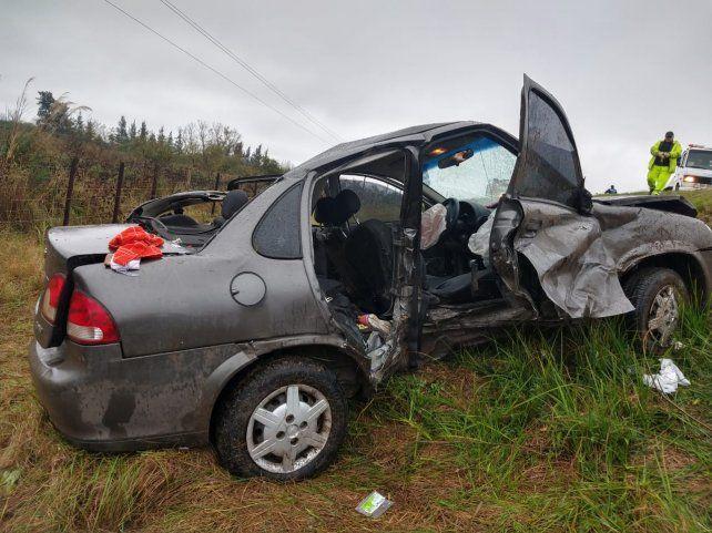 Murieron una mujer y una nena en un accidente sobre Zárate Brazo Largo