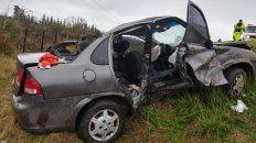 murieron una mujer y una nena en un accidente sobre zarate brazo largo