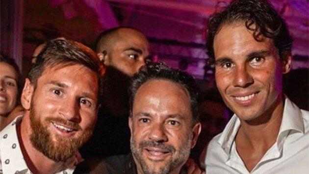 Messi y Nadal, juntos en Ibiza