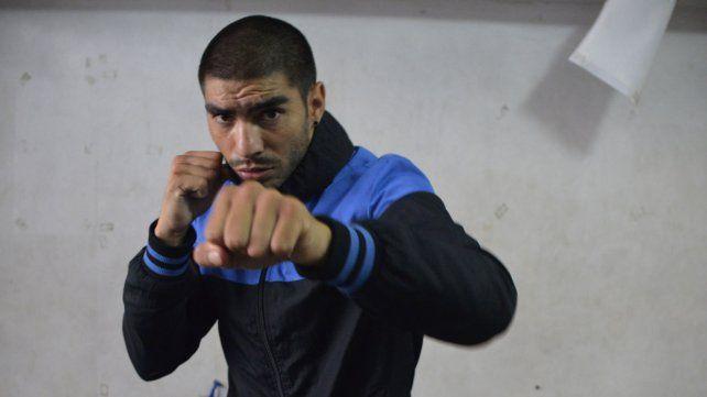 El boxeador de Paraná se presentará en la pelea estelar de la noche