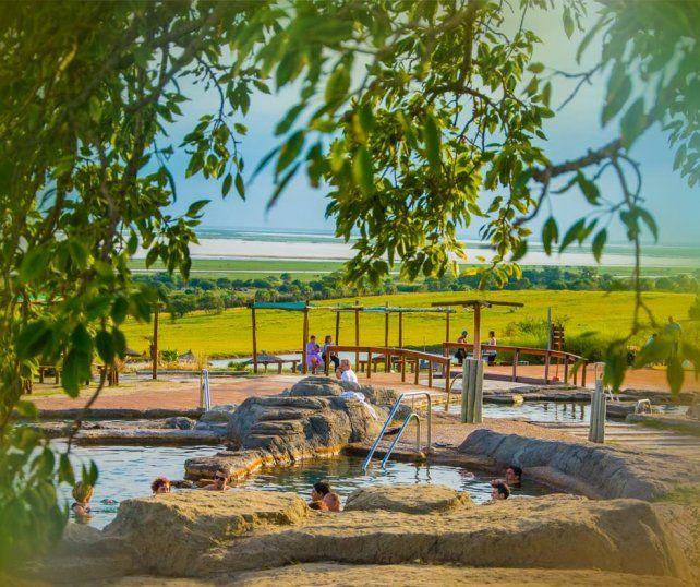 En vacaciones, Victoria es el único parque termal que abre tres días a la semana