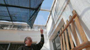 Entraron por el techo y se llevaron 200.000 pesos de una inmobiliaria