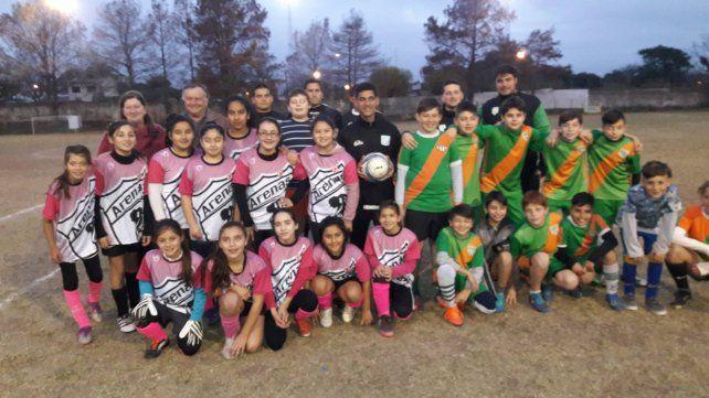 as Arenitas enfrentaron en la semana a El Taladro
