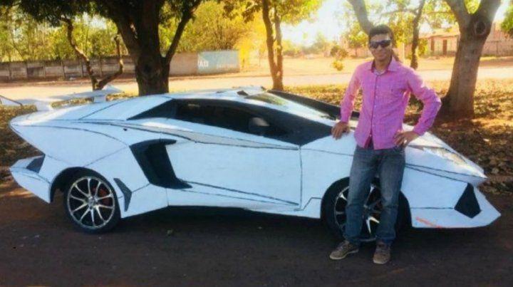 Lamborguno: Parece un Lamborghini pero es un Fiat Uno