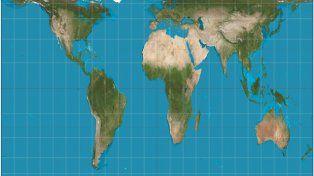 El Norte deforma el mapa y nos  ningunea con rigor científico