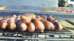 Asado caliente, sabroso y tierno para degustar