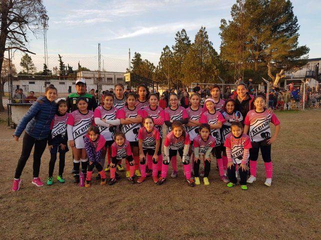 Las Peques de Arenas fueron la sensación del Torneo que organiza el Club Universitario.