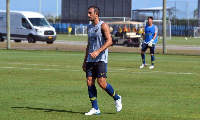 Izquierdoz estara a disposición si Boca avanza a cuartos de final.