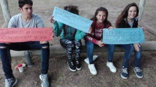Foto Facebook Escuela Almafuerte.