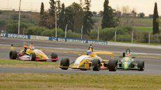 Festejó. La Fórmula Entrerriana entregó la primera victoria del año para Stéfano Veronesi de Gualeguaychú.