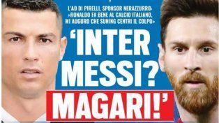¿Messi al Inter?