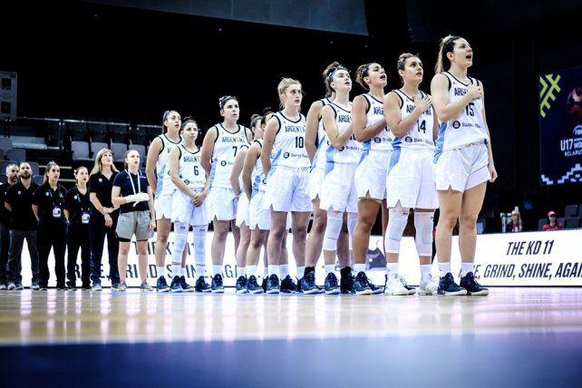 Segunda victoria de Argentina en el Mundial U17 Femenino de Básquet