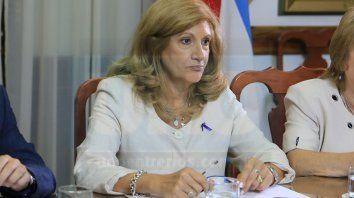 Disidencias. La ministra Romero no comparte la idea del gobierno nacional.