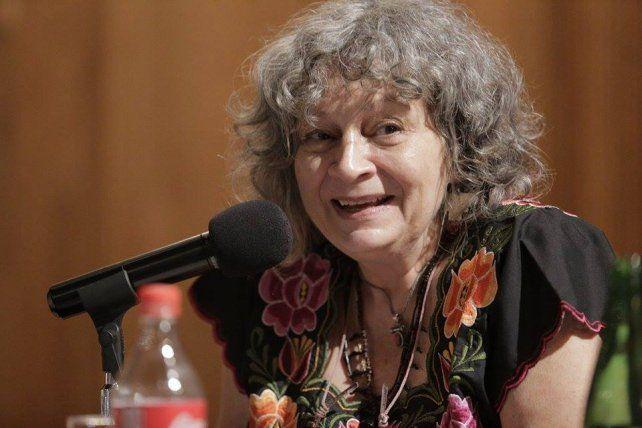 Rita Segato pasó esta mañana por los tribunales de Paraná.