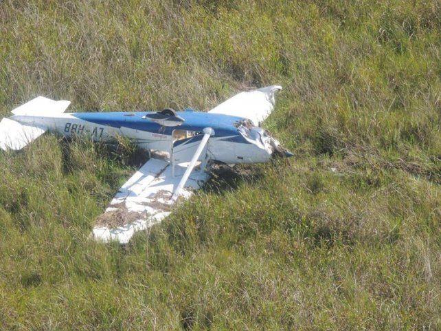 Operativo. La aeronave fue rescatada en un procedimiento especial en los Esteros del Iberá.