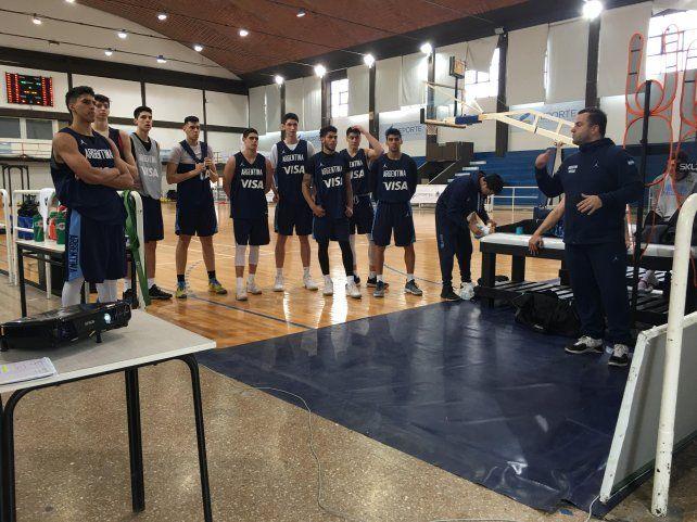 Dos entrerrianos en el Sudamericano U21 de básquet