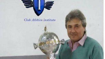 fallecio el presidente del club instituto de parana y la liga paranaense suspendio las actividades del fin de semana