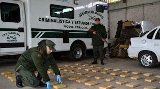 Detuvieron a dos narcos entrerrianos en Itatí con más de 80 kilos de drogas valuados en 2,3 millones de pesos