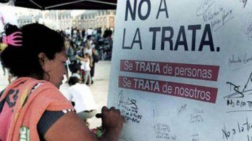 en el dia mundial contra la trata, la red de alerta llamo a reforzar el combate del flagelo