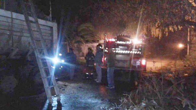 Principio de incendio en un camión cargado de cereales: investigan si fue intencional