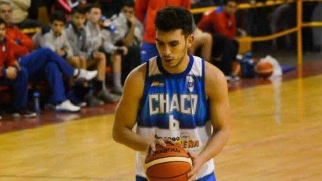 Santiago Barreto hizo las inferiores en Alvear de Villa Ángela.