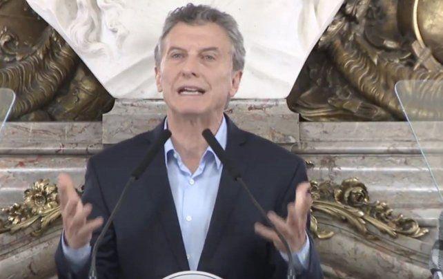 Mauricio Macri cuestionó la absolución del juez Rossi