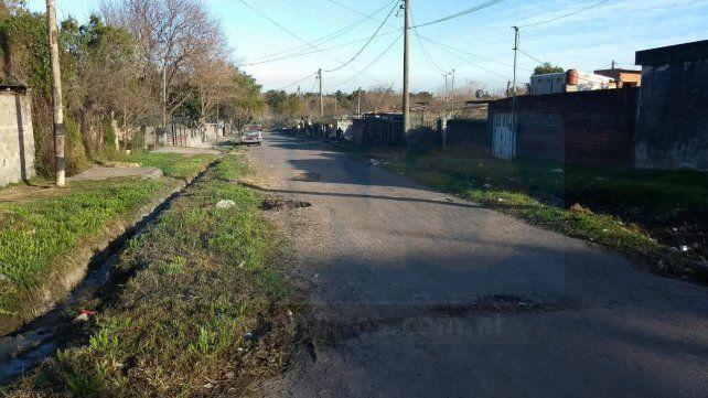 Calle Quiroz al final