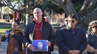 En Santa Elena hubo un emotivo homenaje al policía asesinado por cazadores furtivos