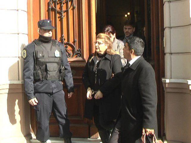 Nueva compañera. Bordeira estará en la celda junto a la asesina de Fernando Pastorizzo.