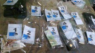 Tres detenidos y once personas identificadas en procedimiento por narcomenudeo