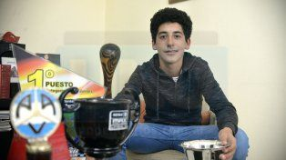 Mateo Guzmán rumbo al campeonato Argentino FotoUNOMateo Oviedo