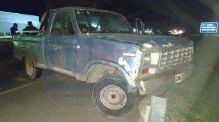 Ruta 12: Conducía una camioneta ebrio y causó un choque en cadena