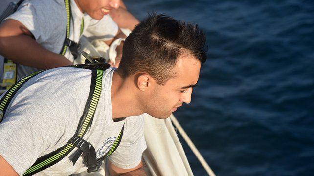Dos hermanos paranaenses que se hicieron a la mar en la Fragata Libertad