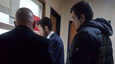 Preso. García Ramón llegó esta mañana al juzgado de Bonadio, donde quedó detenido. Foto: Clarín