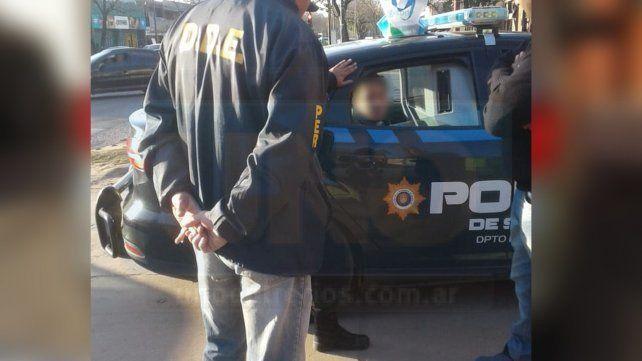 A Victoria. El gitano rosarino fue detenido y derivado al juzgado de las Siete Colinas.