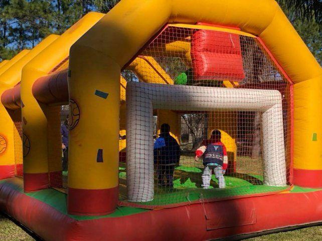 Festejos por el día del niño para menores de residencias del Copnaf