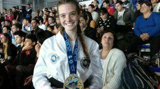 Karen llegó a la cima del mundo en su deporte.