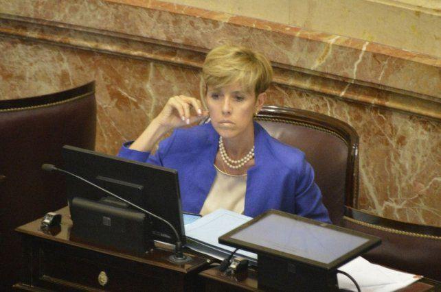 La senadora barilochense del bloque FpV- PJ