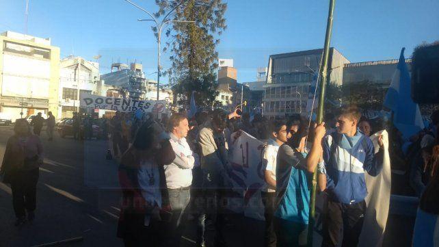 Masiva marcha contra la aprobación de la ley del aborto en Paraná
