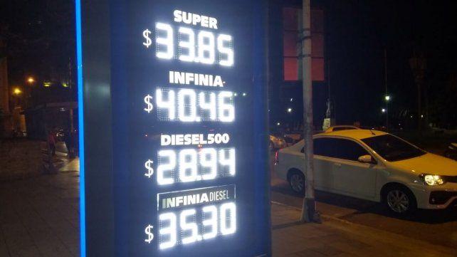 Los precios actualizados en Paraná