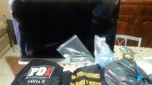 Recuperaron en Santa Fe elementos hurtados por una trabajadora sexual en Paraná