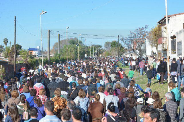 Miles de fieles rindieron homenaje al Patrono del Trabajo